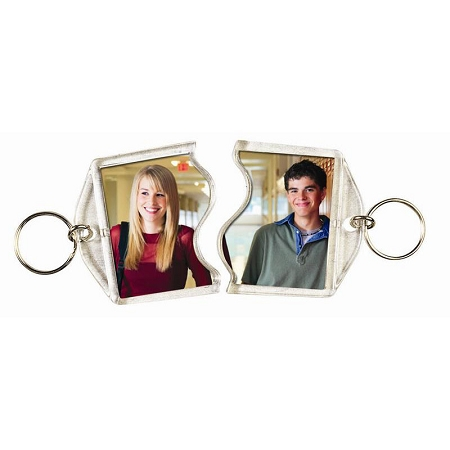 Item # 1984 - Rectangular Puzzle Key chain
