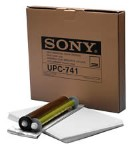 Sony UPC-741 self-laminating, letter-size color print pack UPC741