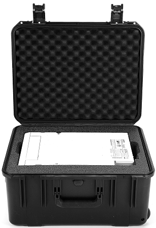 SKB Shipping and carrying case for DS40, DS80, DS620A, DS820A and CPD70DW