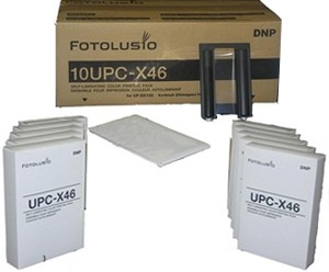 Sony 10UPC-X46 Color Print Pack  for UPXC300, UPXC200, UPDX100, ID400