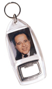 Item # 762 - Snapin Key Tag Bottle Opener. Case of 100